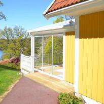 Terassin liukuovi Landskap Stadig, pidennetty kesäkausi, 3 osaa, eri kokoja, eri värejä