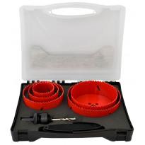 Reikäsahasarja ProMaster, 6-osainen, 52-128mm