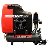 Kompressori ProMaster Leonardo, 2X3L/105L/1HP/230V