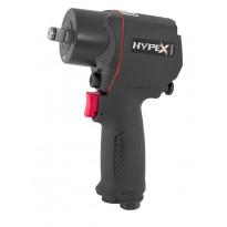 """Mutterinväännin Hypex Mini, paineilma, 1/2"""", 1400 Nm"""