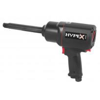 """Mutterinväännin Hypex, paineilma, 3/4"""", 2034 Nm, pitkä kara"""