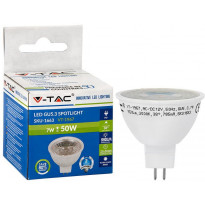 LED-polttimo V-TAC, 7W, MR16/GU5.3, 3000K