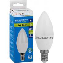 LED-kynttilälamppu V-TAC, 3W, E14, 2700K