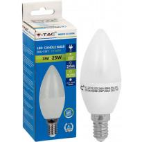 LED-kynttilälamppu V-TAC, 3W, E14, 4000K
