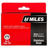 Sinkilä Miles, No.4, 8mm, 1250kpl, rst