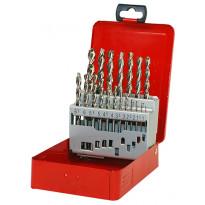 Metalliporanteräsarja Ruko, HSS 1-10mm, TL3000