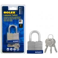 Riippulukko Solex, 50mm, laminoitu