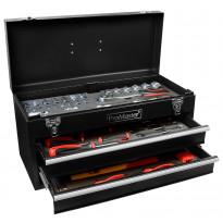 Työkalupakki+työkalut ProMaster, 2 ltk, 96-osainen