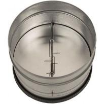 Takaiskuventtiili liesituulettimelle Lapetek, 150/160mm