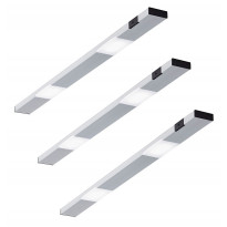 LED-kaappivalaisinsetti Limente Ziro-IR, 3 X 3.6W, pinta-asennettava, alulook