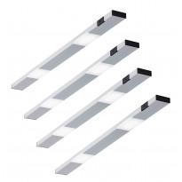 LED-kaappivalaisinsetti Limente Ziro-IR, 4 X 3.6W, pinta-asennettava, alulook