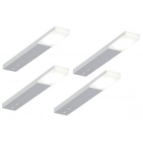 LED-profiilisetti Limente LED-Zircon Tran, 4kpl, 4.9W, alulook