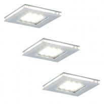 LED-kalustevalaisinsetti Limente LED-Vita 10, 3x4.2W 24V