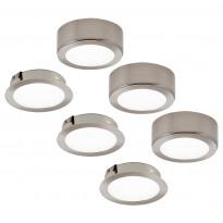 LED-kalustevalaisinsetti Limente LED-Leno 51, 3x4.2W, rst, Tammiston poistotuote