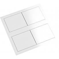 Pistorasia Limente Desk-2 240V IP44, 40x117x117 mm, valkoinen