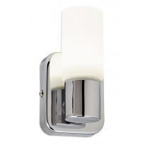 LED-seinävalaisin Limente Puro, 70x80x125mm, kromi, valkoinen