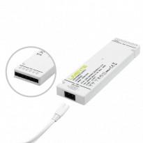 LED-virtalähde Limente, 24V, 60W, integroidut liittimet