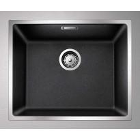 Keittiöallas Blanco Subline 500-IF 543x443 mm Silgranit SteelFrame antrasiitti