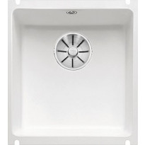 Keittiöallas Blanco Subline 375-U, Ceramic, kristallinvalkoinen
