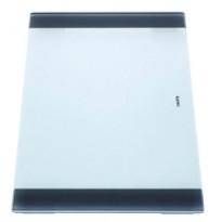 Leikkuulauta Blanco Claron, 240x420mm, lasi, valkoinen