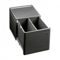 Jäteyksikkö Blanco Botton Pro 45/2 Manual 375x400x350 mm 2 astiaa pohjakiinnitys
