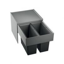 Jäteyksikkö Blanco Select 45/2 418x400x361 mm 2 astiaa vaunumalli