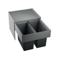 Jäteyksikkö Blanco Select 50/2 468x400x361 mm 2 astiaa vaunumalli