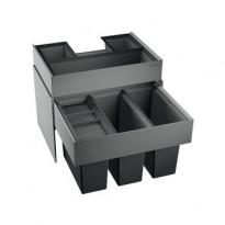 Jäteyksikkö Blanco Select 60/3 Orga 568x400x473 mm 3 astiaa vaunumalli, Verkkokaupan poistotuote