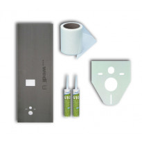 Asennuspaketti Wedi seinä-WC-elementin koteloimiseen