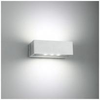 LED-seinävalaisin LedStore Angular 2, 2x3W, IP44, valkoinen, Verkkokaupan poistotuote