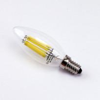 LED-polttimo LedStore Kynttilä, E14, 4W, 4000K, himmennettävä