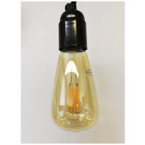 LED-polttimo LedStore Vintage, E27, 6W, kupari