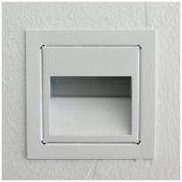 LED-porrasvalaisin LedStore In-Wall, 3W, valkoinen