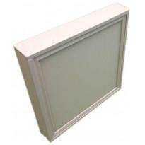 Pinta-asennuskehys LedStore 600 LED-paneeliin, 50mm kehys