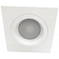 LED-alasvalo LedStore Kiinteä Kantti 9W, IP54, 3000K, himmennettävä, valkoinen