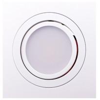 LED-alasvalo LedStore Kantti, 9W, IP44, 4000K, himmennettävä, suunnattava, valkoinen