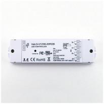 LED-vastaanotin Ledstore VaLO, 12V-36V led nauhoille ja paneeleille, CCT/RGB, 4x5A