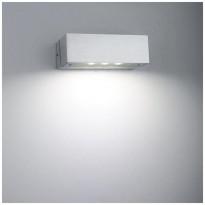 LED-seinävalaisin LedStore Angular, 3W, IP44, harjattu alumiini