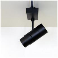 LED-kiskovalaisin LedStore Zoom, 30W, 3-vaihekiskoon, himmennettävä, musta, 3000K