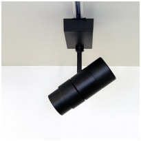 LED-kiskovalaisin LedStore Zoom, 30W, 3-vaihekiskoon, himmennettävä, musta, 4000K
