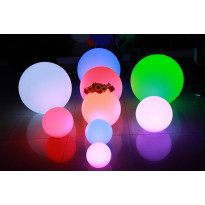 LED-valopallo LED Ball 15 3W 150lm IP65 Ø 150mm RGB+valkoinen