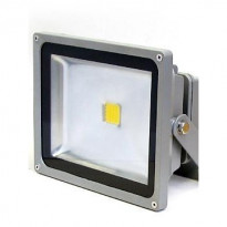 LED-valonheitin LED Flood 30 IP65 30W 4000K 3000lm 225x140x185mm harmaa