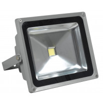 LED-valonheitin LED Flood 50 IP65 50W 4000K 4000lm 225x126x185mm harmaa