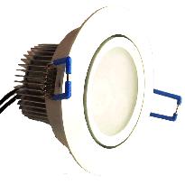 LED-alasvalo LED-033 9W 600lm Ø 90x55mm suunnattava valkoinen