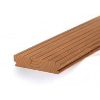 Terassilauta Lunawood Luna Deck 2, Profix 2, 26x117x4500mm, lämpökäsitelty, mänty