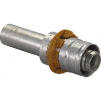 Kytkentäliitin Uponor S-Press helmiliitokselle DR 32-28