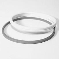 Lattiakaivon kiilarengas ja tiiviste Vieser (1-2 mm vedeneristekerrokselle)