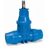 Talosulkuventtiili EasyTech muovia avk 40mm 16-040-50006 pn16, Verkkokaupan poistotuote