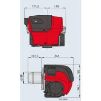 Öljypoltin Oilon OILPRO 3 L, 15-30 kW