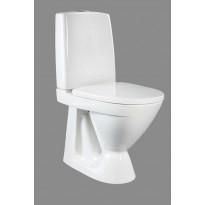 WC-istuin Ido Seven D 12, korkea kiinnitysreiillä, ilman istuinkantta, 1-huuhtelu